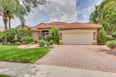 Boynton Beach Single Family Home For Sale: 7653 Lockhart Way