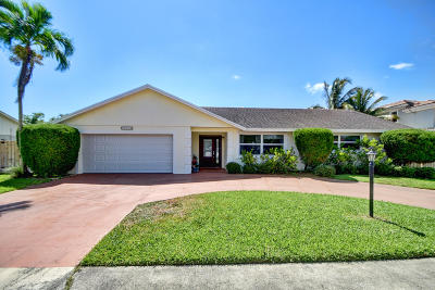 Boynton Beach Single Family Home For Sale: 3718 Diane Drive