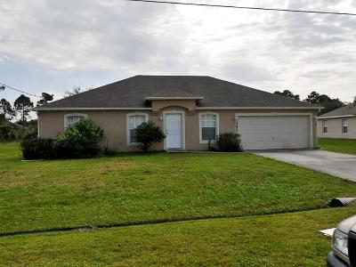 Port Saint Lucie Single Family Home For Sale: 1552 SW Neponset Road