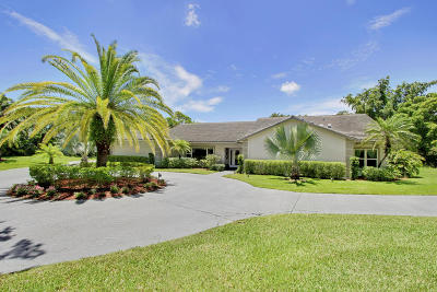 Palm Beach Gardens Single Family Home For Sale: 5809 Sea Biscuit Road
