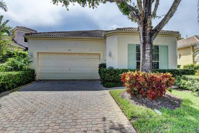Palm Beach Gardens Single Family Home For Sale: 112 Sunset Bay Drive #112