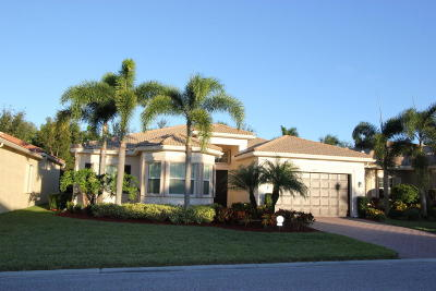 Boynton Beach Single Family Home For Sale: 10870 Broadview Bay Point