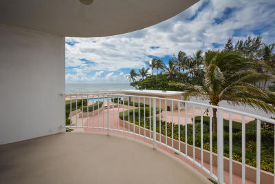 Palm Beach Condo For Sale: 2295 S Ocean Boulevard #302