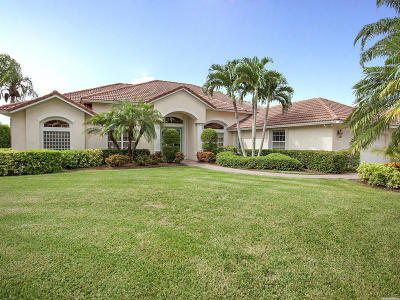 Port Saint Lucie Single Family Home For Sale: 1252 SW Bent Pine Cove