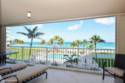 Highland Beach Condo Sold: 3101 S Ocean Boulevard #312