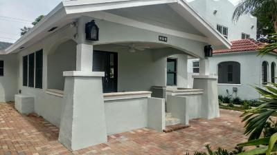 West Palm Beach Single Family Home For Sale: 331 Greenwood Drive