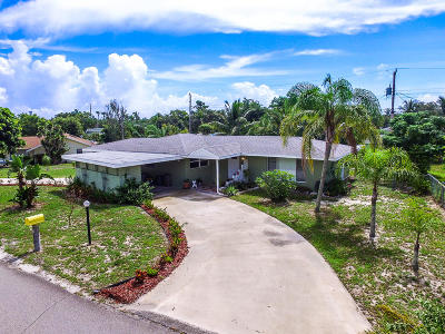 Hobe Sound Single Family Home For Sale: 12863 SE Hobe Hills Drive