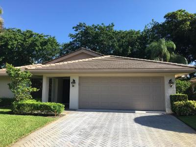 Boynton Beach Single Family Home For Sale: 4785 Pine Tree Drive