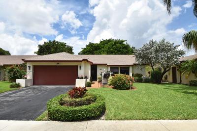 Boca Raton Single Family Home For Sale: 18063 104th Terrace S