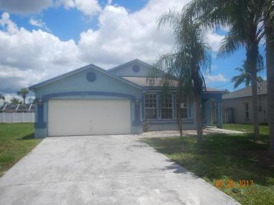 Jupiter Single Family Home For Sale: 6351 Adams Street