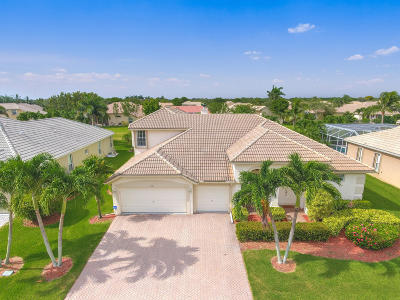 Boynton Beach Single Family Home For Sale: 7081 Brunswick Circle