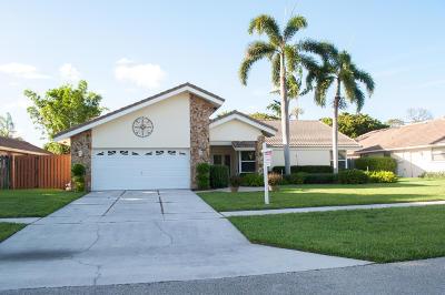 Boca Raton Single Family Home For Sale: 5673 Boca Chica Lane