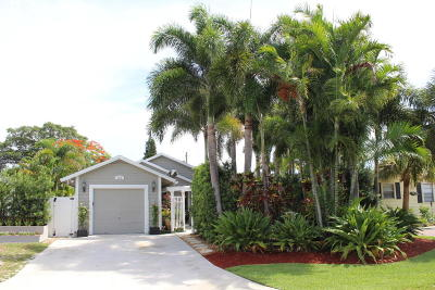 Jupiter Single Family Home For Sale: 315 3rd Street
