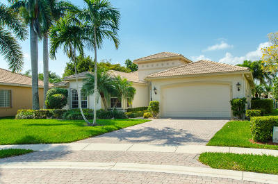 Lake Worth Single Family Home For Sale: 8589 Vintage Reserve Terrace