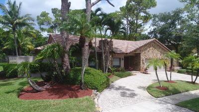 Boca Raton Single Family Home For Sale: 7540 Estrella Circle