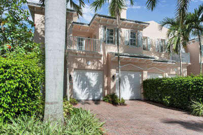 Delray Beach Townhouse Sold: 790 Andrews Avenue #I-101