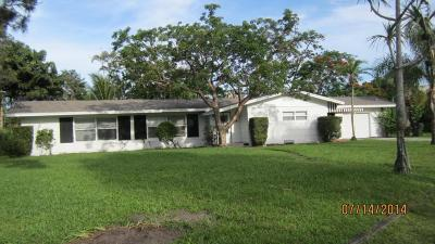 Delray Beach Single Family Home For Sale: 118 NW 11th Street