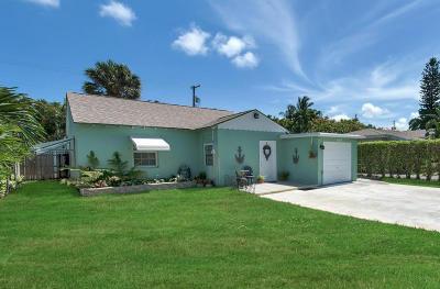 Delray Beach Single Family Home For Sale: 606 Allen Avenue #(+guest