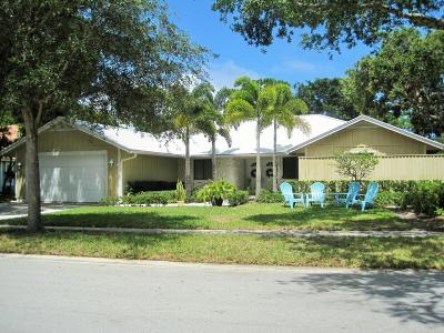 Jupiter Single Family Home For Sale: 6270 Longleaf Pine Drive