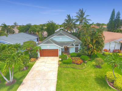 Jupiter Single Family Home For Sale: 6159 Foster Street