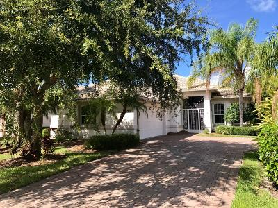 Jensen Beach Single Family Home For Sale: 4593 NW Red Maple Drive
