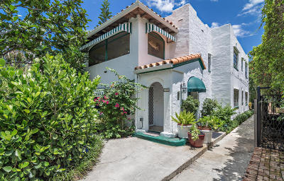 Palm Beach Multi Family Home For Sale: 335 Cocoanut Row