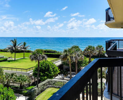 Halcyon Of Palm Beach Condo For Sale: 3440 S Ocean Boulevard #404 S