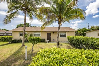 Jupiter Single Family Home For Sale: 609 Pennock Lane