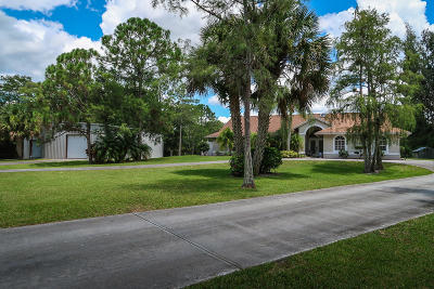 Palm Beach Gardens Single Family Home For Sale: 8235 159th Court