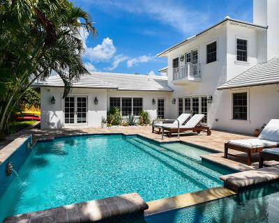 Palm Beach Single Family Home For Sale: 221 Ocean Terrace