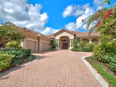 Palm Beach Gardens FL Single Family Home For Sale: $1,199,000