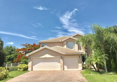 Greenacres Single Family Home For Sale: 5501 Monte Fino Court