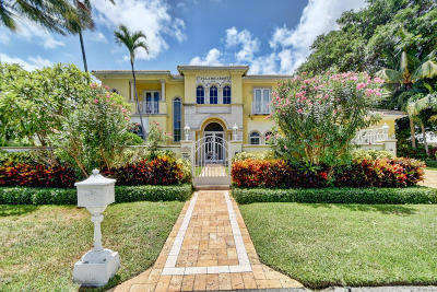 Broward County, Palm Beach County Single Family Home For Sale: 1171 Banyan Road