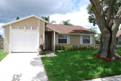 Jupiter Single Family Home For Sale: 116 Greentree Circle
