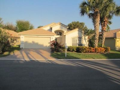 Boynton Beach Single Family Home Contingent: 10586 Tropical Breeze Lane