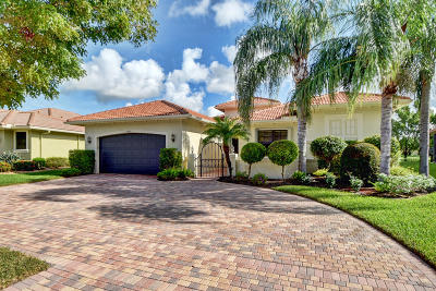 Delray Beach Single Family Home For Sale: 14565 Jetty Lane