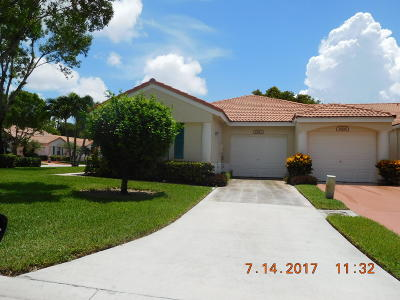 Delray Beach Single Family Home For Sale: 15212 Lake Wildflower Road
