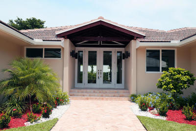 Lake Worth FL Single Family Home For Sale: $1,049,999