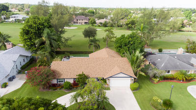 Boynton Beach Single Family Home For Sale: 4320 Juniper Terrace
