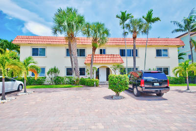 Broward County, Palm Beach County Rental For Rent: 1024 Bel Air Drive #1