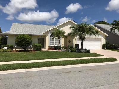 Jupiter Single Family Home For Sale: 124 Palomino Drive