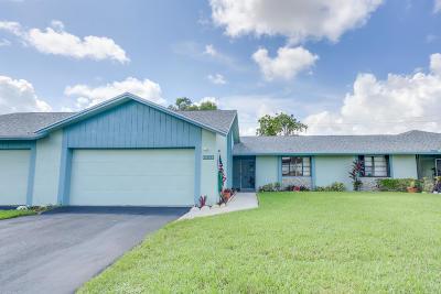 Boca Raton Single Family Home For Sale: 9139 SW 20th Street #E