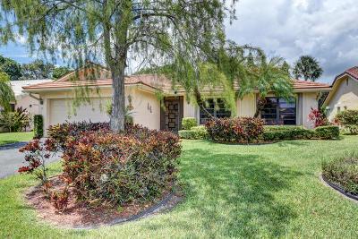 Boca Raton Single Family Home For Sale: 7944 Cloverfield Circle