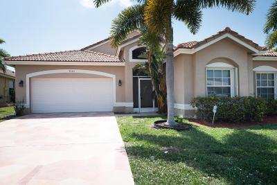 Boynton Beach Single Family Home For Sale: 9188 Cove Point Circle