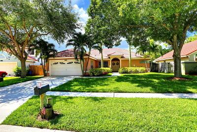 Boynton Beach Single Family Home For Sale: 5561 Descartes Circle