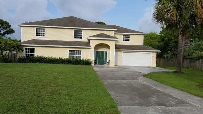 Lake Worth Single Family Home For Sale: 5244 1st Street