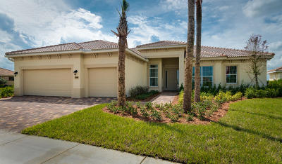 Port Saint Lucie Single Family Home For Sale: 11913 SW Aventino Drive