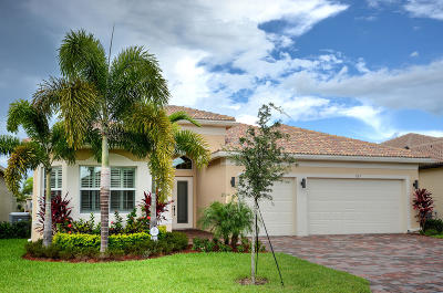 Boynton Beach Single Family Home For Sale: 8187 Green Mountain Road