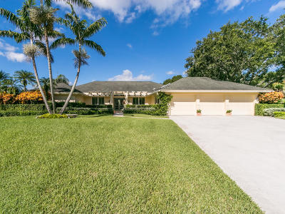 Jupiter Single Family Home Contingent: 19662 Red Maple Lane