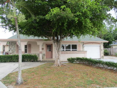 Boynton Beach Single Family Home For Sale: 232 NE 12th Avenue